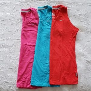 Sale: 3 for $30 * Sleeveless crewneck workout tees